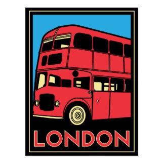 affiche d art déco de Londres Westminster Angleter Cartes Postales