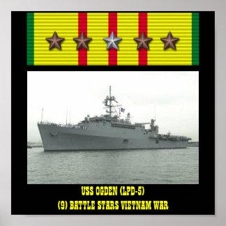 AFFICHE D OGDEN D USS LPD-5