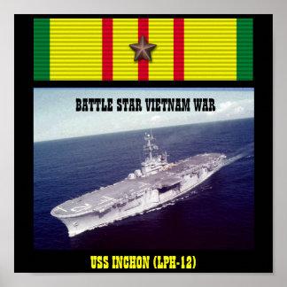 AFFICHE D USS INCHON LPH-12