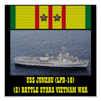 AFFICHE D USS JUNEAU LPD-10