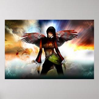 Affiche d'ange