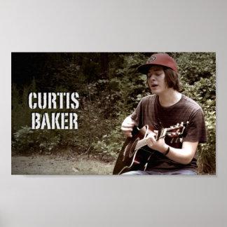 Affiche de Baker 10x6 de Curtis