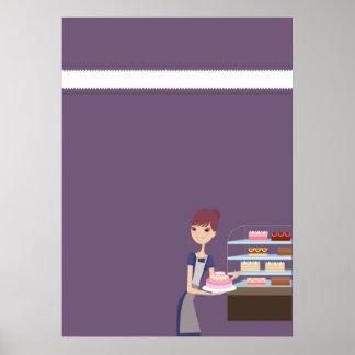 Affiche de boulangerie/magasin de pâtisserie 4/cop