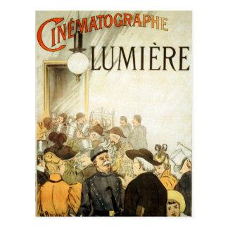 Affiche de cinéma de frères de Lumière Cartes Postales