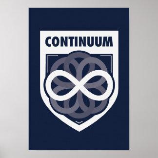 Affiche de continuum de clan