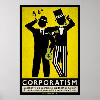 Affiche de corporatisme