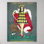 Affiche de Cremant du Roi Vintage Champagne