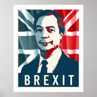 Affiche de Farage Brexit - -