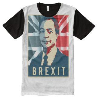 Affiche de Farage Brexit - - T-shirt Tout Imprimé
