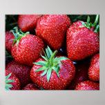 Affiche de fraise