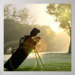 Affiche de golf