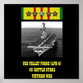 AFFICHE DE LA FORGE DE VALLÉE D USS LPH-8