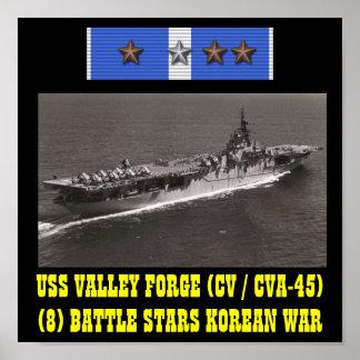 AFFICHE DE LA FORGE DE VALLÉE D'USS (CV/CVA-45)
