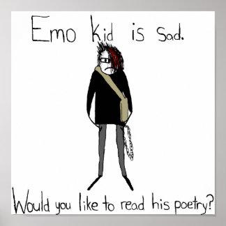Affiche de la poésie de l enfant d Emo