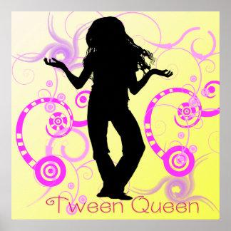 Affiche de la Reine de Tween
