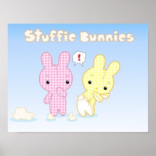 Affiche de lapins de Stuffie