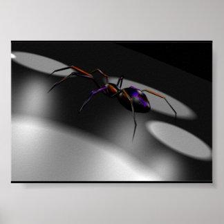 affiche de l'araignée 3D
