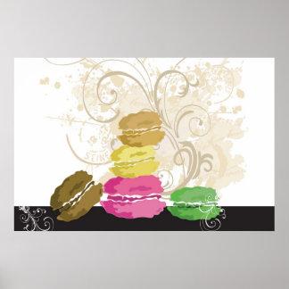 Affiche de Macarons