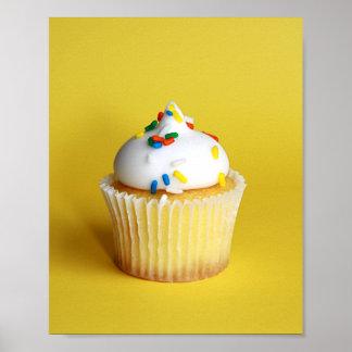 Affiche de petit gâteau