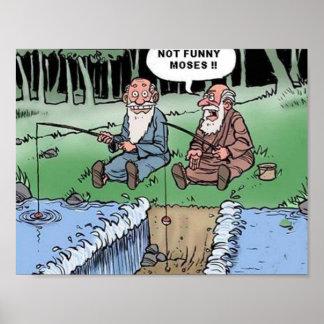 Affiche de plaisanterie de Moïse