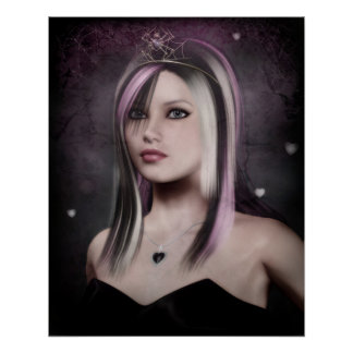 affiche de princesse d'emo