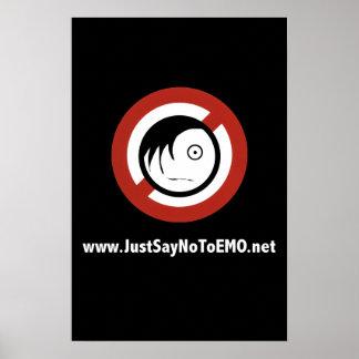 affiche de www.JustSayNoToEMO.net