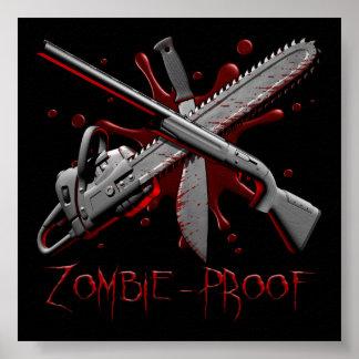 Affiche de Zombie_Proof