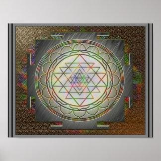 Affiche divine de Sri Yantra9