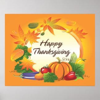 Affiche du bon thanksgiving 5