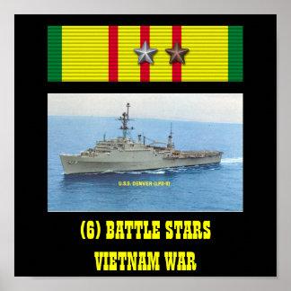 AFFICHE D'USS DENVER (LPD-9)
