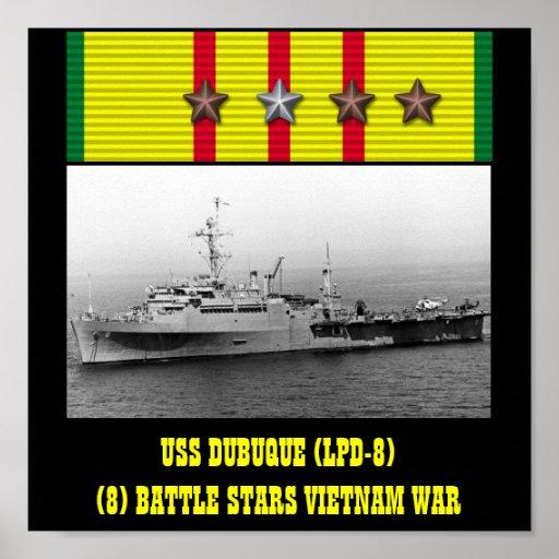 AFFICHE D'USS DUBUQUE (LPD-8)