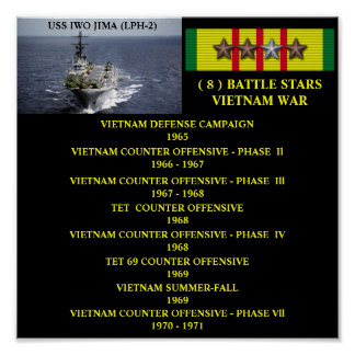AFFICHE D'USS IWO JIMA (LPH-2)