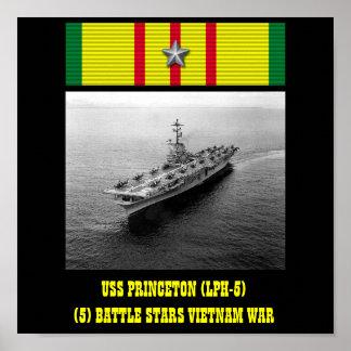 AFFICHE D'USS PRINCETON (LPH-5)