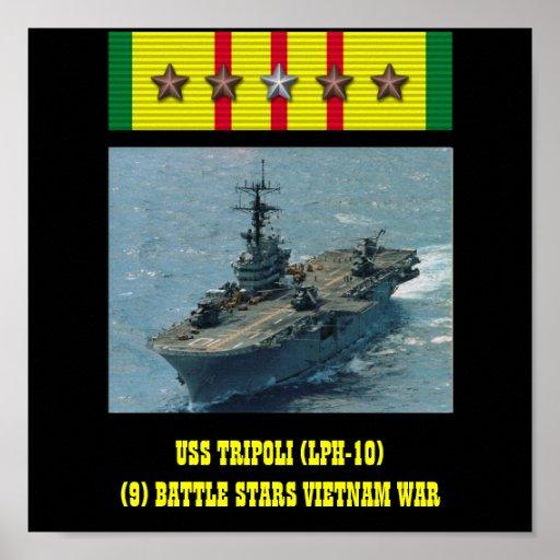 AFFICHE D'USS TRIPOLI (LPH-10)