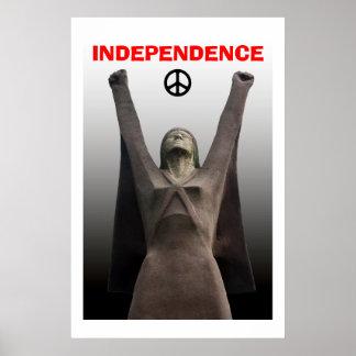 Affiche écossaise de Pasionaria de La de l'indépen