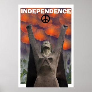 Affiche écossaise de pavot de Pasionaria de La de