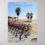 Affiche fraîche de plage de Venise !