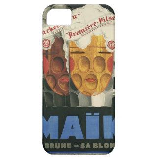 affiche française originale 1929 d'art déco de coque Case-Mate iPhone 5