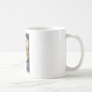 affiche française originale 1929 d'art déco de mug