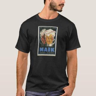 affiche française originale 1929 d'art déco de t-shirt