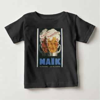 affiche française originale 1929 d'art déco de t-shirt pour bébé