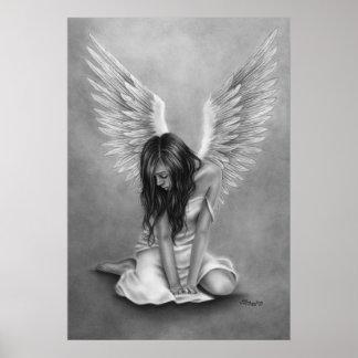 Affiche navrée d'ange