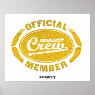 Affiche officielle de membre