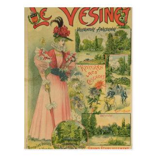 Affiche pour Chemins de Fer De à Le Vesinet Cartes Postales