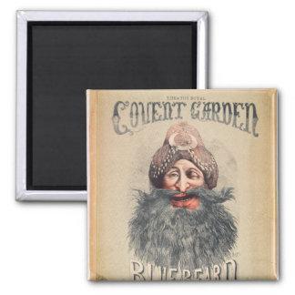 Affiche pour une pantomime de Noël Magnet Carré
