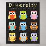 Affiches de diversité pour des enfants
