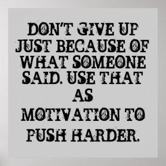 Affiches de motivation de séance d'entraînement