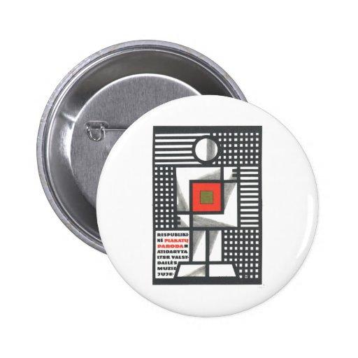 Affiches de propagande d'Union Soviétique de guerr Badges Avec Agrafe