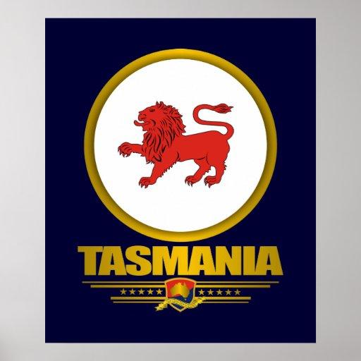 Affiches et copies d'emblème de la Tasmanie