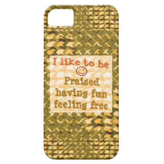 Affirmation STATEMENTS: Praise FUN Free - LOWPRICE iPhone 5 Cases